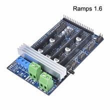Ramps 1.6 motherboard upgrade base on Ramps 1.4 1.5 New version 3D Printer Control  Board for Reprap Mendel
