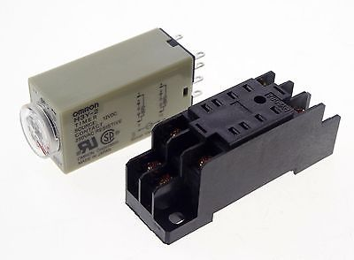 цена на 5 x H3Y-2 Power On Time Delay Relay Solid-State Timer Max 1S 12VDC  DPDT