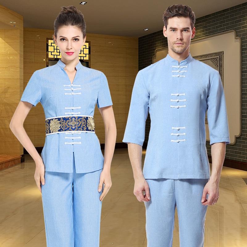 popular spa uniform buy cheap spa uniform lots from china