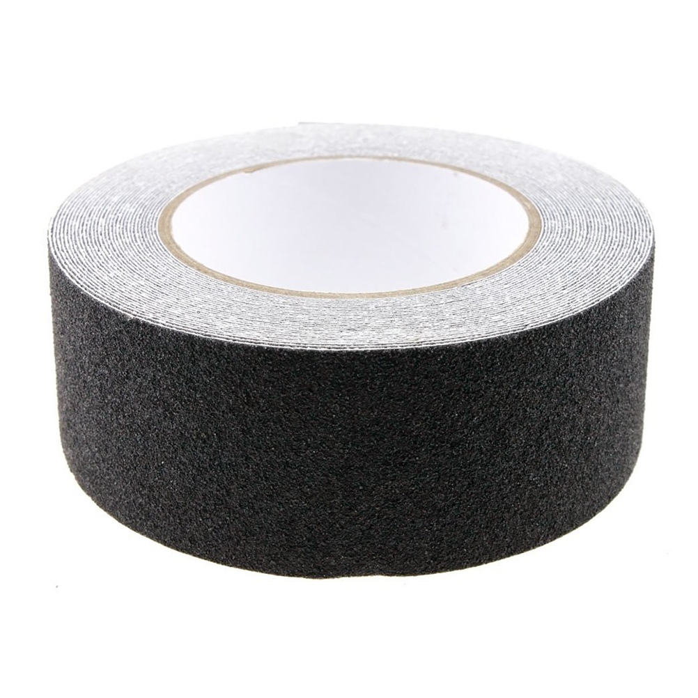 10 м рулон нескользящей ленты наклейки для лестницы настил полосы для ванной самоклеящиеся (черный)