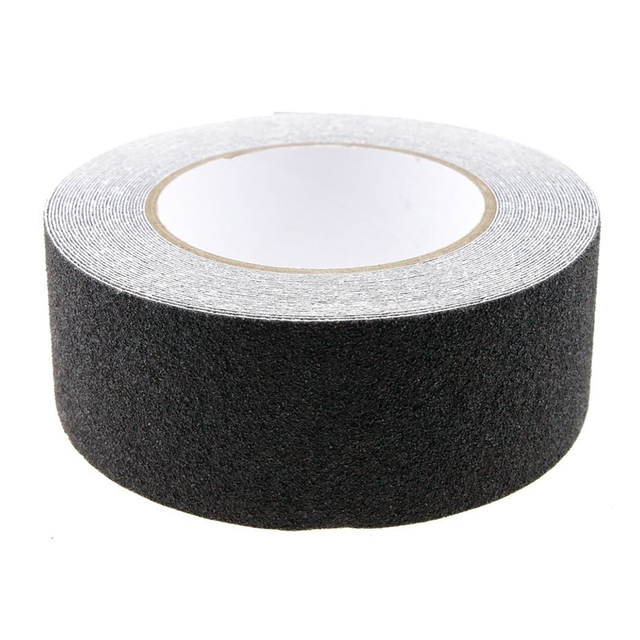 10M Roll of Anti Slip Tape Stickers for Stairs Decking Strips For Stair Floor Bathroom Self Adhesive(Black)
