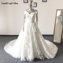 YuanDingYiSha A-Line Wedding Dress 2017 Royal Train