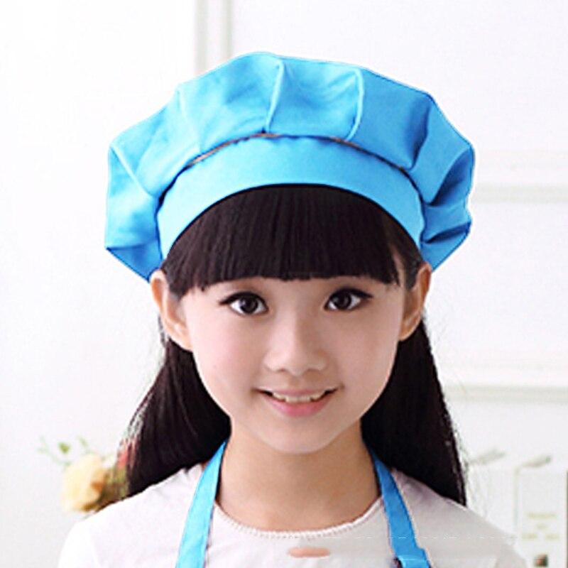 Behendig Mling 2 Pcs Leuke Kinderen Schort Mode Chef Hoed Kids Craft Art Keuken Koken Drinken Voedsel Bakken Chef Hoed