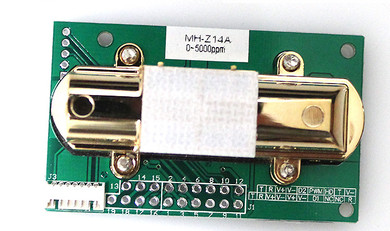 FREE SHIPPING MH Z14 MH Z14A Infrared carbon dioxide sensor module Analog output environment monitoring 0