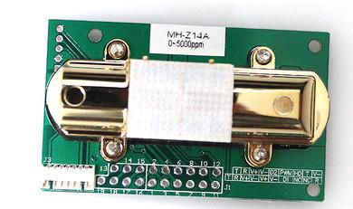 FRETE GRÁTIS MH-Z14A MH-Z14 Infravermelho sensor de dióxido de carbono módulo de monitoramento do ambiente de saída Analógica 0-2000PPM 0-5000ppm