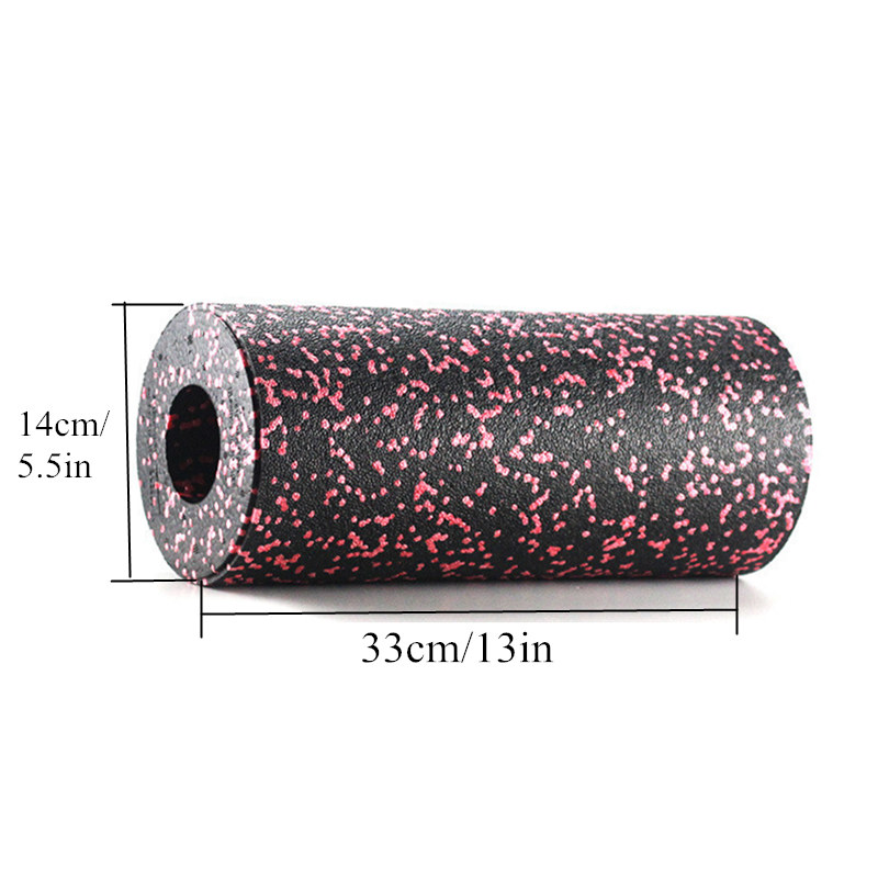 Yoga & Muscle Massage Foam Roller Camouflage Pattern Hollow High-Density Round Stovepipe Relax Sports Shaping Yoga Brick