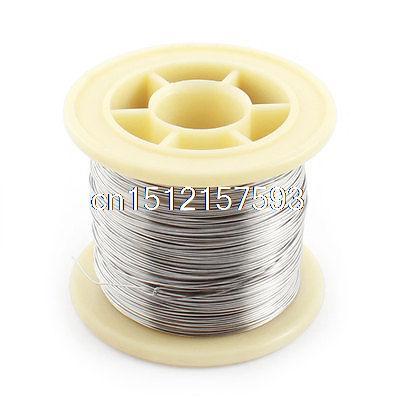 50M Length AWG26 0.4mm Diameter Nichrome Resistance Heating Coils Resistor Wire  цены