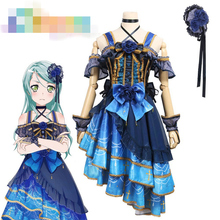 Anime Cosplay Costume BanG Dream Roselia 4th Single Hikawa Sayo Concert Dress Z