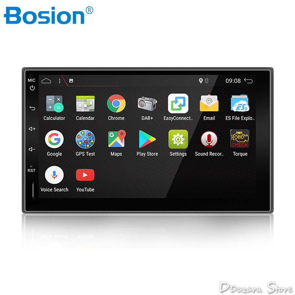 quad core 2 din android 7 1 2din new universal car radio. Black Bedroom Furniture Sets. Home Design Ideas