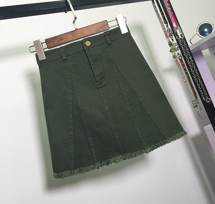 HTB1bxBmOVXXXXbOaFXXq6xXFXXXK - American Apparel button Denim Skirt JKP265