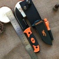 Browning Reparierte Blatt-messer 7Cr15Mov Klinge Taktische Messer, EDC Camping Werkzeuge, Überleben Messer, Gerade, Freien werkzeug