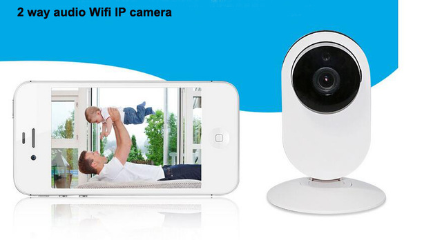 new 2 way Audio IP Camera 720P Smart Camera wireless Baby Monitor Home Protection Mobile Remote Cam Night Version Camera 2017 new gift with uv lamp remote control lcd display automatic vacuum cleaner iclebo arte and smart camera baby pet monitor