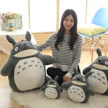 30/40/55 Cm Cartoon Movie Soft Totoro Plush Toy Stuffed Pillow Sofa Cushion For Fans