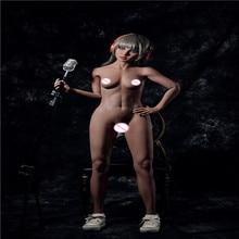 YANNOVA Muñeca sexual con esqueleto de metal, TPE, Lora, 150cm, sexy, mujer, muñeco sexual de silicona, realista