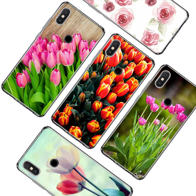 new arrival da296 152ac US $1.97 37% OFF|Transparent Soft Silicone Phone Case sweet Tulip flower  for Xiaomi F1 A1 A2 S2 Redmi Note 4X 5 6 5A 6A Pro-in Fitted Cases from ...