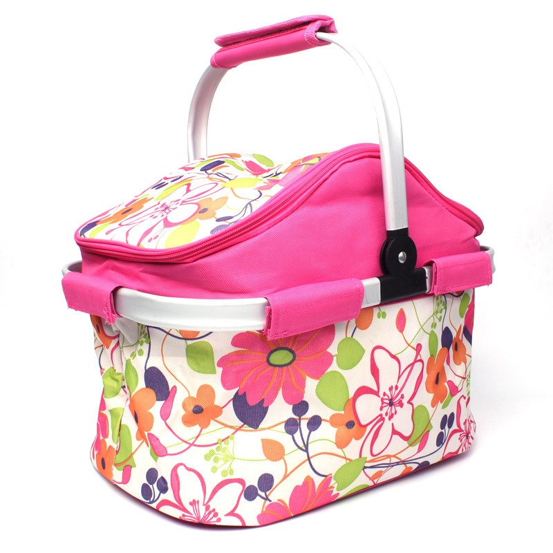Large 20L Travel Women Tote Insulated Lunch Bag Thermal Family Storage Picnic Food Lunch Box School Food Cooler Bag