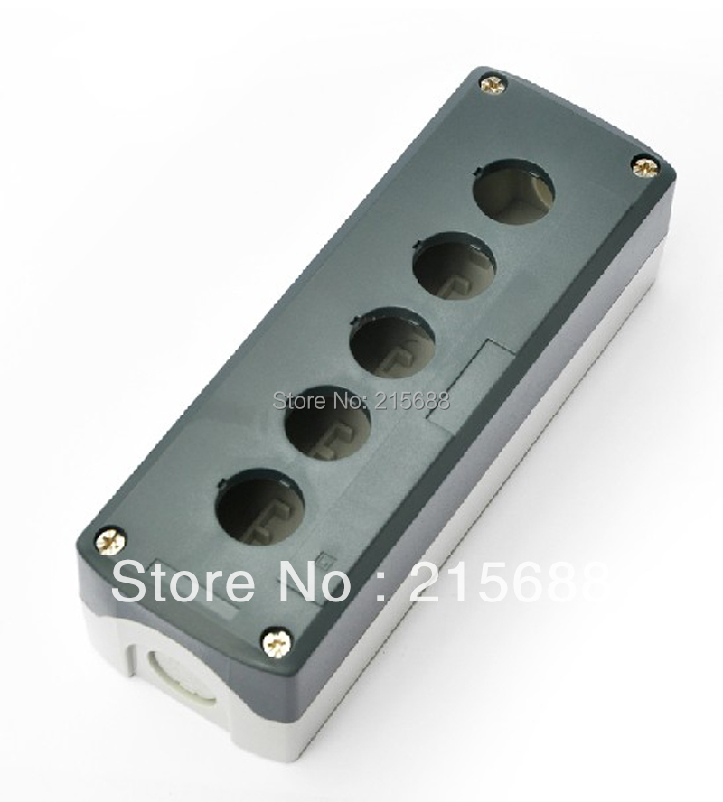 2015 NEW 198*68*54mm 5 GANG HOT SELL ELECTRICAL PUSH BUTTON BOX IP65 WATERPROOF BOX BATTERY SWITCH BOX type SBX05