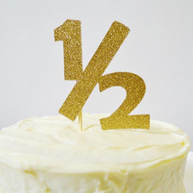1 Teile Beutel DIY Glitter 2 Halb Kuchen Topper Bachelorette Party