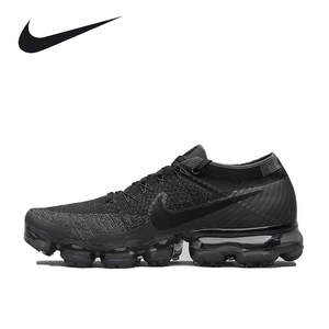 ce17bf1a007 Nike Outdoor Shoes for Men 849558-007 Air VaporMax Flyknit Black Running  Breathable