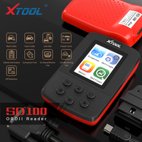 XTOOL SD100 Full OBD2 Code Reader Scan Tools SD100 OBD2 Car Diagnostic Tools Better Than ELM327 Multi Language Free update