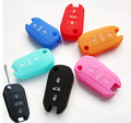FIT FOR PEUGEOT 508 5008 301 2008 208 308 3008 408 SILICONE FLIP KEY COVER HOLDER FOB CASE SHELL JACKET POUCH ACCESSORIES