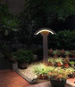 Image 5 - Luminária led de parede impermeável, de alumínio fundido, para parede de jardim e casa