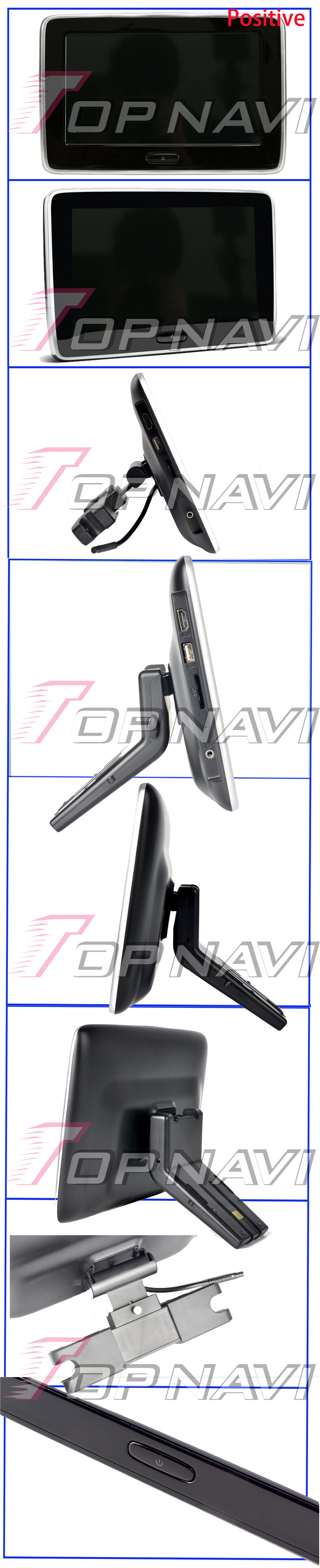 Car Headrest MP4 Monitor Multi media Player