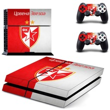 Galatasaray 1905 Football Team PS4 Skin Sticker Decal Vinyl for Sony Playstation 4 Console and 2 Controllers PS4 Skin Sticker