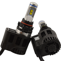 DLAND P6 55W AUTO LED BULB LAMP KIT LIGHTS 5200LM, IP68 H1 H3 H4 H7 9006 9005 H8 H10 H11 H13