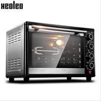 Xeoleo Baking Oven 38L Electric Oven Baker Machine 360 Degree Rotate Fork 60 Min Timing Max