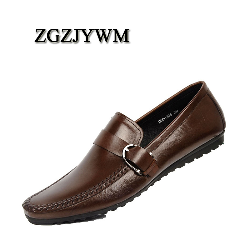 ZGZJYWM Brand Moccasins Men Genuine Leather Casual Breathable Lazy Hasp Mens Clothing  Men Business Casual Boat Flats ShoesZGZJYWM Brand Moccasins Men Genuine Leather Casual Breathable Lazy Hasp Mens Clothing  Men Business Casual Boat Flats Shoes