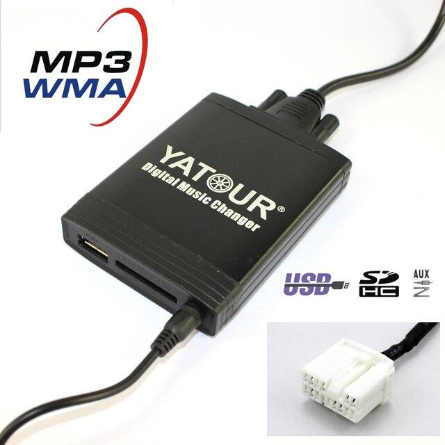 Yatour Yt M06 For Honda Accord City Civic Cr V Fit Jazz Fr V Odyssey