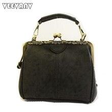 2017 mode Frauen Messenger Bags Leder Schultertasche Vintage Damen Schulter Handtaschen Damen-einkaufstasche Crossbody Geldbörsen Weibliche