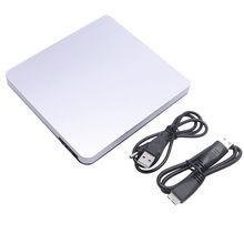 USB 3.0 CD/DVD-RW Optical Burner Writer External Drive Slim for Macbook For iMAC PC