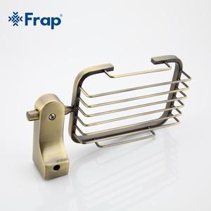 Image 3 - Frap estilo retro bronze acessórios do banheiro metal cesta saboneteira pratos saboneteira caso de sabão decoração para casa F1402 1