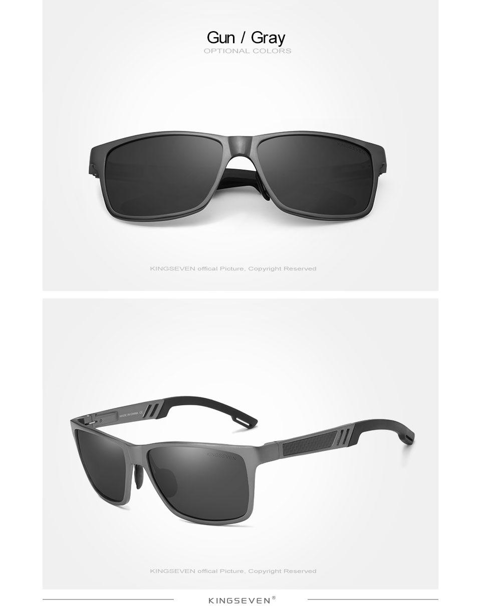 HTB1bxFloDnI8KJjy0Ffq6AdoVXaz - KINGSEVEN Men Polarized Sunglasses Aluminum Magnesium Sun Glasses Driving Glasses Rectangle Shades For Men Oculos masculino Male