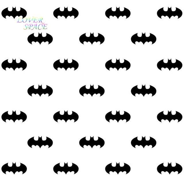 56pcs batman logo removable wall stickers vinyl wall decal kids art mural decor cartoon wall sticker