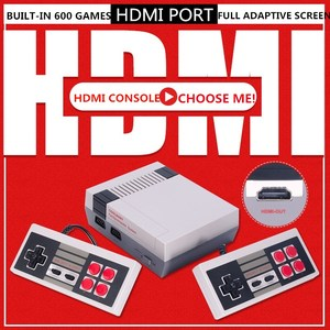 Image 1 - 4K HDMI Output 8Bit Retro Classic Handheld Game Player TV Video Game Console Childhood Built in 600 Games Mini Console PAL&NTSC