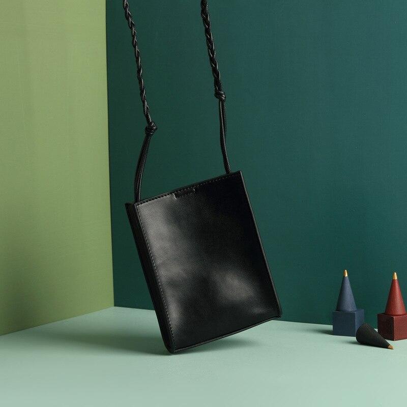 by H 2019 luxury designer arrow head genuine leather mini flap messenger bag womens shoulder bag fashion handbag