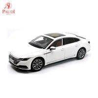 Paudi Model 1/18 1:18 Scale VW Volkswagen CC Arteon 2018 White Diecast Model Car Toy Model Car Doors Open