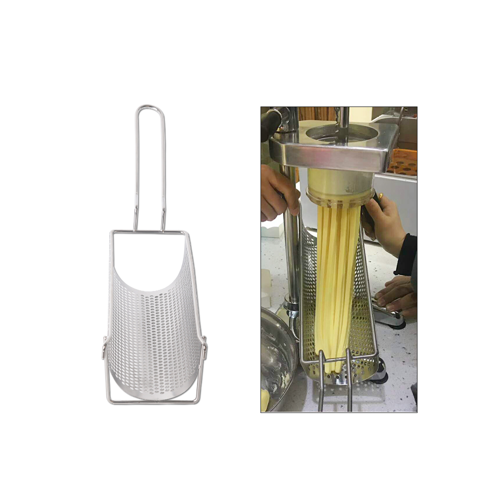 Potato Chips Fried Basket Commercial Stainless Steel Long 30cm Potato Chip Frying Container For Potato Chip Squeezers in Other Fruit Vegetable Tools from Home Garden