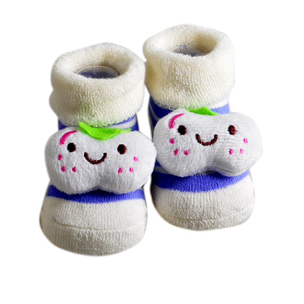 2018 Newborn 0-6 Month Boy Girl Unisex Hot Sales Cotton Soft Anti Slip Socks Infant Cute ...
