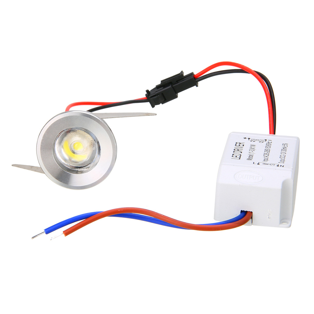 1w 3w Recessed Mini Counter Showcase Spotlight Lamp Ceiling Mounted Electrical Wiring Lighting Led Downlight Light Mayitr New In Spotlights From Lights On