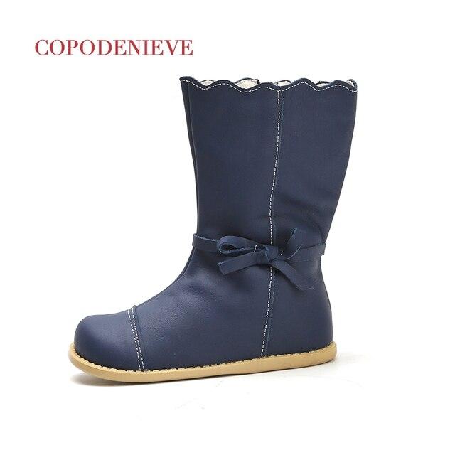 COPODENIEVE kış sıçrama su geçirmez kız çizmeler kayak bezi sıcak kar botları çocuk Boys, polar çocuk ayakkabı kızlar anne kızı