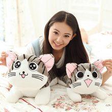 Kawaii плюшевые игрушки 30 см Япония мультфильм аниме плюшевые игрушки чи прекрасный кот плюшевые куклы мягкие плюшевые игрушки валентина подарок подарок на день рождения