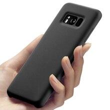 Için Samsung Galaxy S8 S 8 Artı yumuşak Silikon arka kapak Kılıf 360 Sevimli Darbeye G9550 9500 Lüks Tam koruyucu Kapak