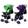 New Baby Stroller Folding Portable Pushchair Baby Carriage Lightweight Four Wheels Infant Travel Strollers 5 Colors