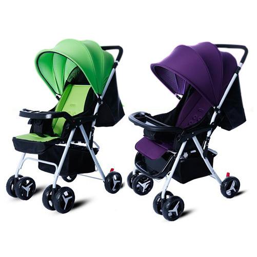 Novo Carrinho de Bebê Leve de Quatro Rodas Carrinho de Bebê Carrinho de Criança Dobrável Portátil Infantil Carrinhos De Viagens 5 Cores