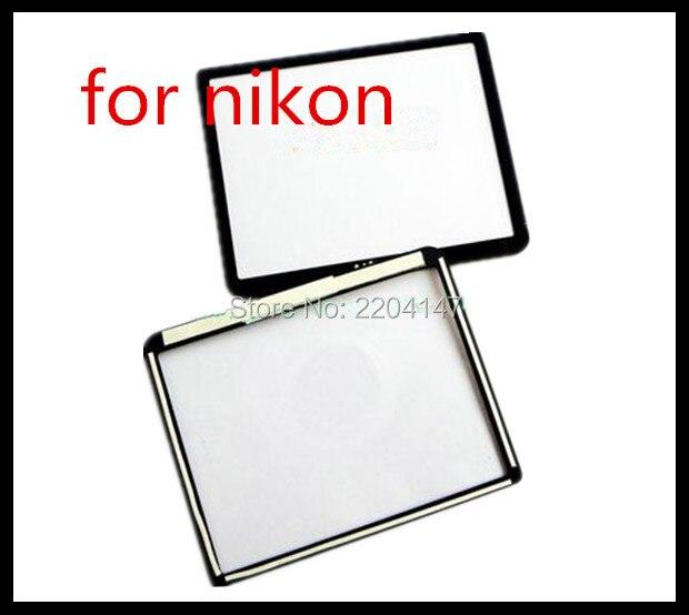NOUVEAU LCD Écran Vitrine (Acrylique) En Verre Extra-Atmosphérique Pour NIKON D3100 Caméra Écran Protecteur + Bande