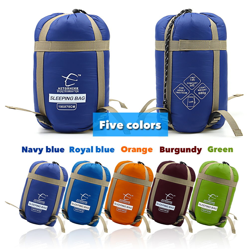 Outdoor Splicing Sleeping Bag Ultra Light Adult Portable Camping Hiking Bags Sleeping Bags Spring Autumn lazy bag New arrival naturehike portable double sleeping bag liner bags 2colors 2200x1600mm ultra light spring summer camping envelope lazy bag 850g